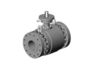 Metal Seated Trunnion Ball Valve